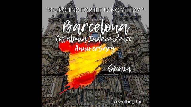 Catalonia Independence Anniversary